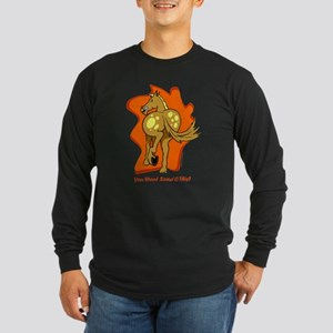 You Want Some of This? Long Sleeve Dark T-Shirt