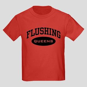 Flushing Queens Kids Dark T-Shirt