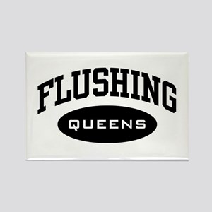 Flushing Queens Rectangle Magnet