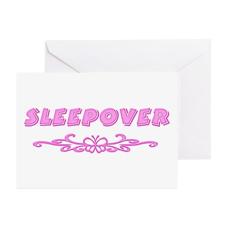 Sleepover Greeting Cards (Pk of 10)
