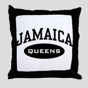 Jamaica Queens Throw Pillow