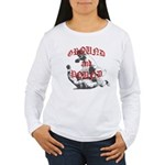 Ground And Pound Women's Long Sleeve T-Shirt