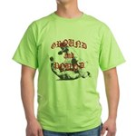 Ground And Pound Green T-Shirt