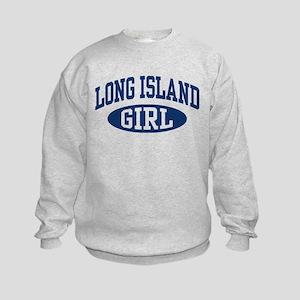 Long Island Girl Kids Sweatshirt