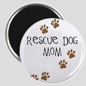 Rescue Dog Mom Magnet