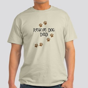 Rescue Dog Dad Light T-Shirt