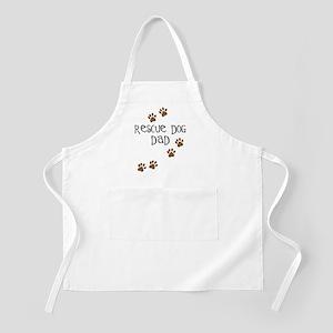 Rescue Dog Dad BBQ Apron