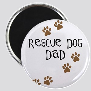 Rescue Dog Dad Magnet