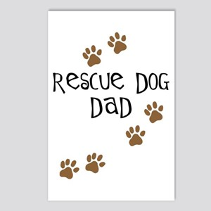 Rescue Dog Dad Postcards (Package of 8)