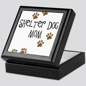 Shelter Dog Mom Keepsake Box