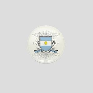 Argentina Shield Mini Button
