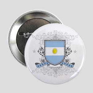 "Argentina Shield 2.25"" Button"