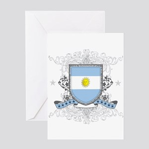 Argentina Shield Greeting Card