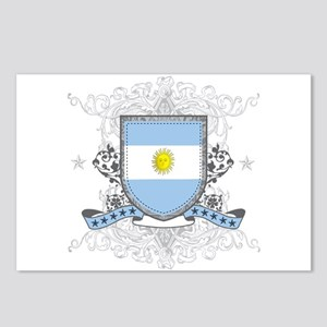 Argentina Shield Postcards (Package of 8)