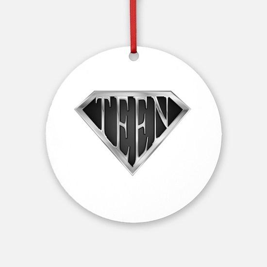 SuperTeen(metal) Ornament (Round)