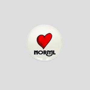 Love NORML Mini Button (10 pack)