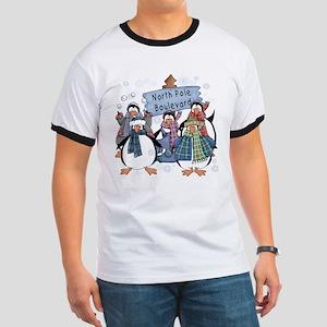North Pole Penguins Ringer T
