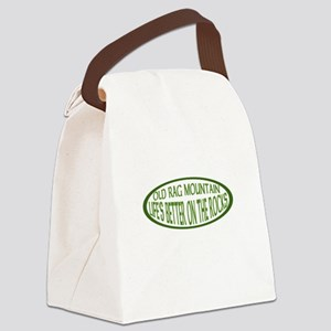 ont the rocks Canvas Lunch Bag