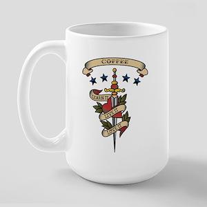 Love Coffee Large Mug
