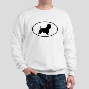 West Highland Terrier Oval Sweatshirt