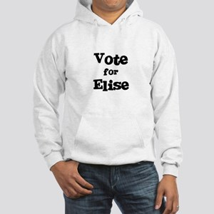 Vote for Elise Hooded Sweatshirt