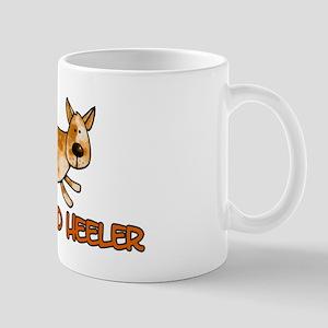 i love my red heeler Mug