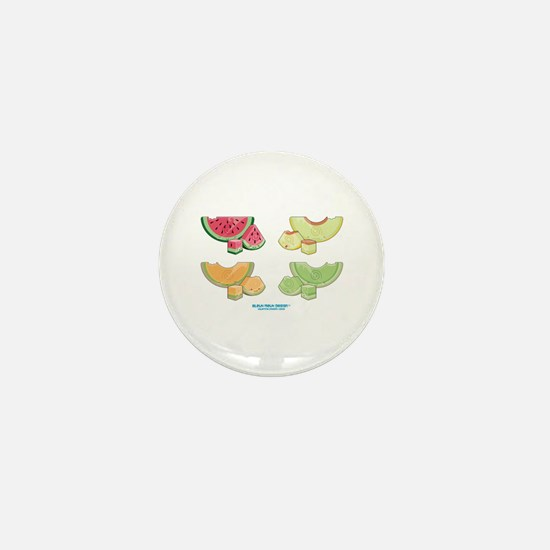 Kawaii Summer Melons Group Mini Button