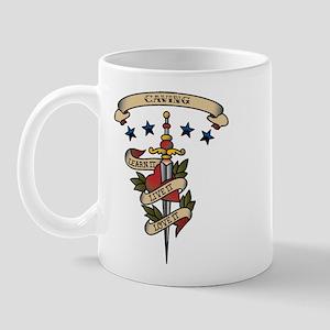 Love Caving Mug
