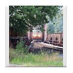 Train On a Bridge, N.S. RR Tile Coaster