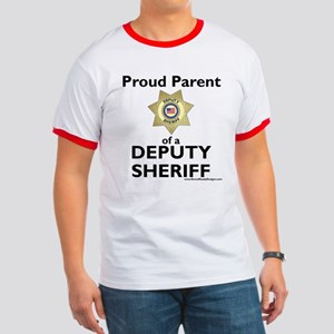 Parent of a Deputy Sheriff Ringer Tee