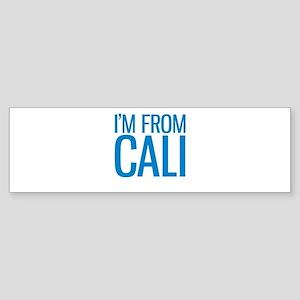 I'M FROM CALI Bumper Sticker