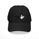 Kitty Kind Blue Eyes Snowshoe Cat Black Cap