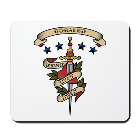 Love Bobsled Mousepad