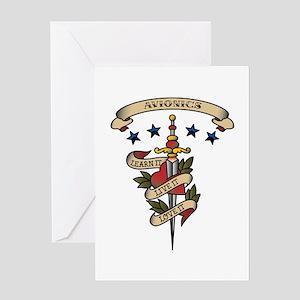 Love Avionics Greeting Card