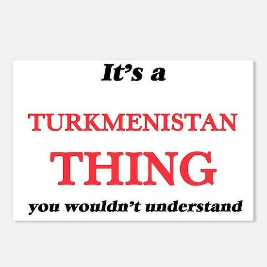 It's a Turkmenistan t Postcards (Package of 8)