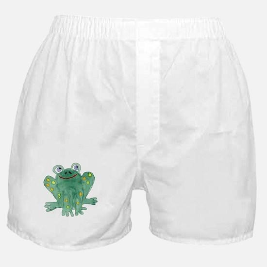 Cute Frog Boxer Shorts