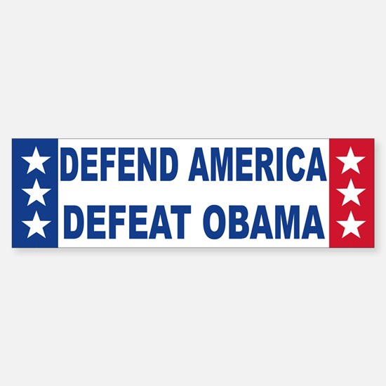 Anti obama Bumper Bumper Bumper Sticker