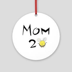 Mom2bee Ornament (Round)