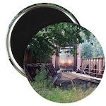 Train On a Bridge, N.S. RR Magnet