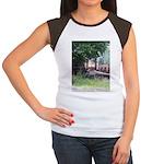 Train On a Bridge, N.S. RR Women's Cap Sleeve T-Sh