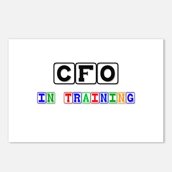 Cfo In Training Postcards (Package of 8)