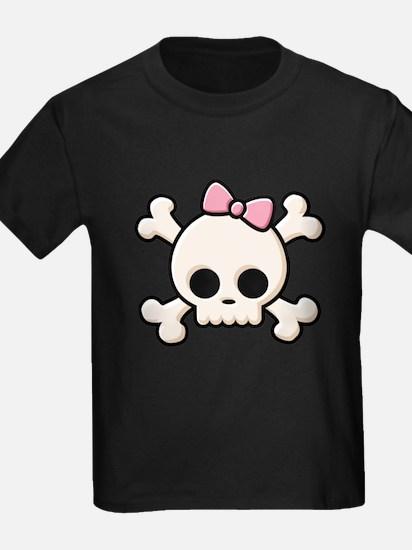 Cute Skull Girl T