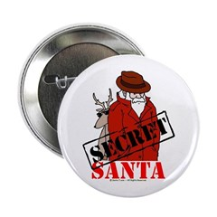 "Secret Santa 2.25"" Button"
