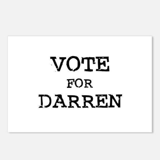 Vote for Darren Postcards (Package of 8)