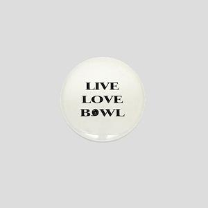 Live Love Bowl Mini Button