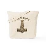 Gold Nordic Pride Tote Bag
