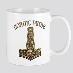 Gold Nordic Pride Mug