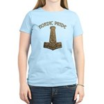 Gold Nordic Pride Women's Light T-Shirt