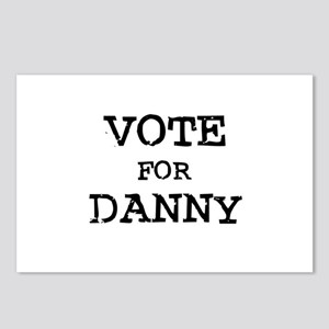 Vote for Danny Postcards (Package of 8)