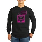 Video Killed the Radio Star Long Sleeve Dark T-Shi